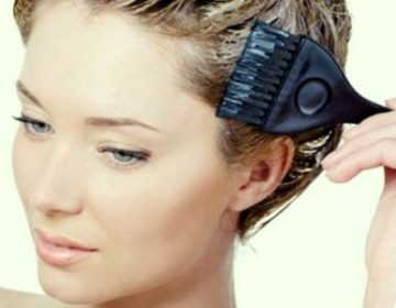Как правильно красить волосы дома